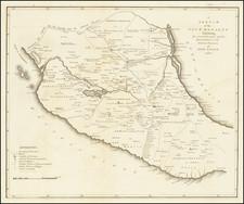 Mexico Map By Zebulon Montgomery Pike