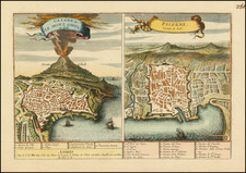 Sicily Map By Nicolas de Fer