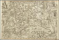 Russia and Ukraine Map By Ferrando Bertelli