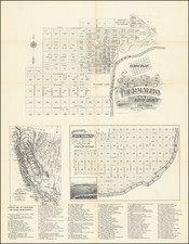 Other California Cities Map By Schmidt Label & Litho. Co. / Thermalito Colony Co.
