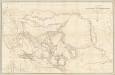 Plains, Nebraska, North Dakota, South Dakota, Rocky Mountains, Idaho, Montana and Wyoming Map By W.F. Raynolds