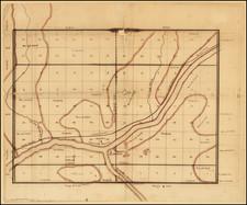Illinois Map By A. J. Mathewson