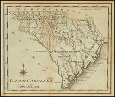 South Carolina Map By Joseph Scott
