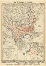 Austria, Ukraine, Hungary, Romania, Balkans, Croatia & Slovenia, Bosnia & Herzegovina, Serbia & Montenegro, Bulgaria, Turkey and Greece Map By Samuel Augustus Mitchell Jr.