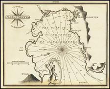 Turkey & Asia Minor Map By William Heather