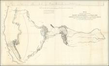 Plains, Southwest, Arizona, Colorado, Utah, Nevada, Rocky Mountains, Colorado, Idaho, Utah, Wyoming, Oregon and California Map By John Charles Fremont