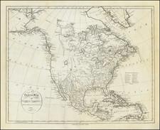 North America Map By John Reid