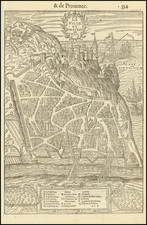 Other French Cities Map By Francois De Belleforest