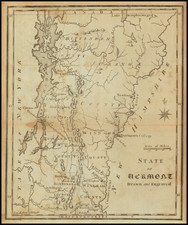 Vermont Map By Joseph Scott