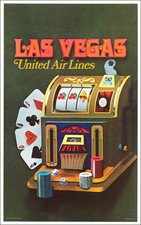 Nevada Map By United Airlines