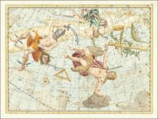 Celestial Maps Map By Johann Elert Bode