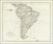 South America Map By John Reid