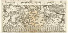 Holy Land Map By Antonio Salamanca