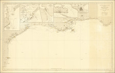 Florida, Alabama, Mississippi and Texas Map By Direccion Hidrografica de Madrid