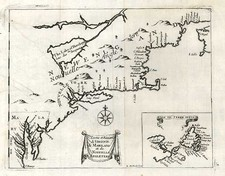 New England, Mid-Atlantic and Canada Map By Henri Justel