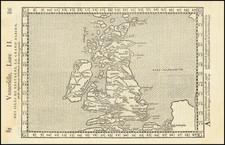 British Isles Map By Francois De Belleforest