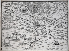 Southern Italy and Other Italian Cities Map By Francesco di Salo