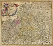 Poland and Baltic Countries Map By Johann Baptist Homann