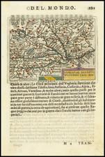 Hungary Map By Abraham Ortelius / Pietro Marchetti