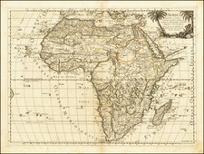 Africa Map By Giacomo Giovanni Rossi