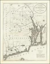 Rhode Island Map By John Reid