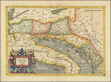 Balkans and Italy Map By  Gerard Mercator