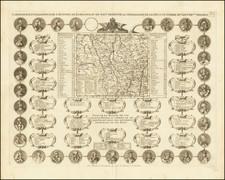Nord et Nord-Est Map By Henri Chatelain