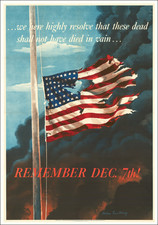 United States, World War II and Travel Posters Map By United States GPO / Allen Saalburg