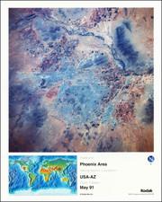 Arizona Map By NASA / Kodak