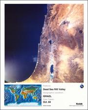 Holy Land Map By NASA / Kodak