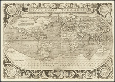 World Map By Hernando de Solis