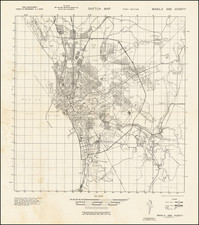 Philippines and World War II Map By U.S. Army Corps of Engineers