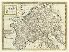 Europe, Europe, Mediterranean and Balearic Islands Map By Antonio Zatta