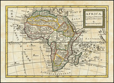 Africa Map By Herman Moll