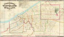Ohio Map By Otto Dercum