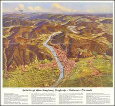 Süddeutschland Map By G. Ruep