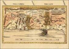 Holy Land Map By Martin Waldseemüller