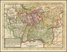 Süddeutschland Map By Herman Moll