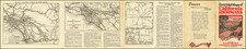 California and Atlases Map By The Clason Map Company