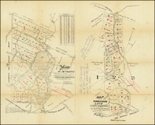 San Francisco & Bay Area and Other California Cities Map By Hermann Bros