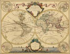 World Map By Pierre Mortier