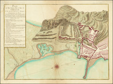 Gibraltar Map By S.G. Longchamps
