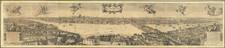 London Map By Wenceslaus Hollar / Cornelis II Danckerts / Robert Martin