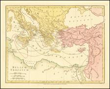 Mediterranean, Turkey & Asia Minor and Greece Map By Robert Wilkinson