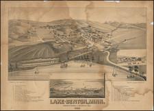 Minnesota Map By J.J. Stoner / Beck & Pauli / Henry Wellge