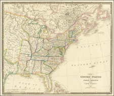 United States, Midwest and Plains Map By James Wyld