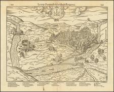 Grand Sud-Ouest Map By Francois De Belleforest