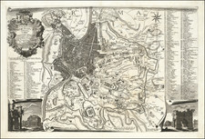 Rome Map By Leonardo Bufalino / Giovanni Battista Nolli