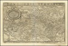World Map By Lambert Andreas / Johannes Matalius Metellus