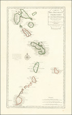 Other Islands and Martinique Map By Jean André Dezauche